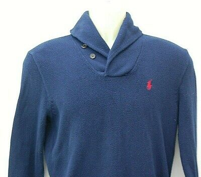 Genuine Men's Polo By RALPH LAUREN JUMPER Top SIZE SMALL
