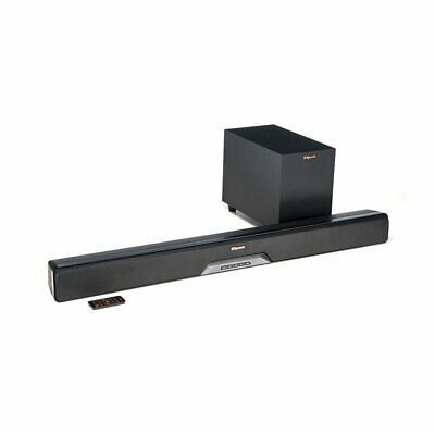 Klipsch RSB-6 2.1 Sound Bar With Wireless Subwoofer Bluetooth Compatible RSB6