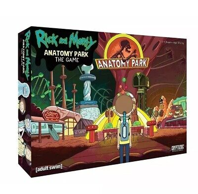 Rick and Morty Anatomy Park The Newest Edition - Adult Swim Cryptozoic