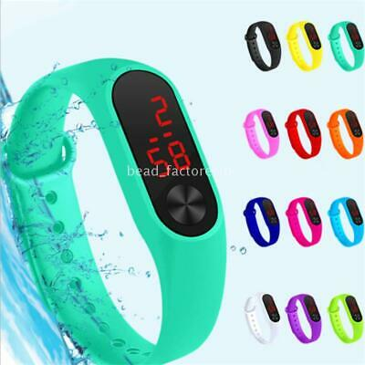 Boys Girls LED Display Sport Kids Watch Men Women Watches Electronic Wristwatch