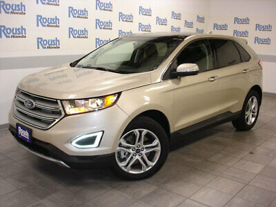 2018 Ford Edge Titanium AWD KEYLESS TOUCH ENTRY+KICK TO OPEN TAILGATE+SONY PREMIUM STEREO+PANORAMIC ROOF!