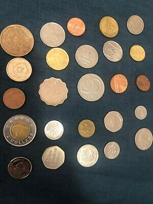 25 Coins From Around The World