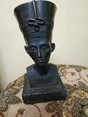 Antique Statue Rare Ancient Egyptian Pharaonic The head of Queen Nefertiti Bc