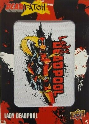2019 Upper Deck Deadpool Trading Card DEADPATCH DP6 Lady Deadpool
