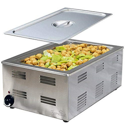 Food Warmer Full Size Counter top Food Warmers Commercial Electric Steam Table