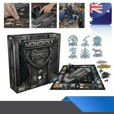 For Monopoly The Game of Thrones Board Game Adult Party Funny Cards Game Hot AU
