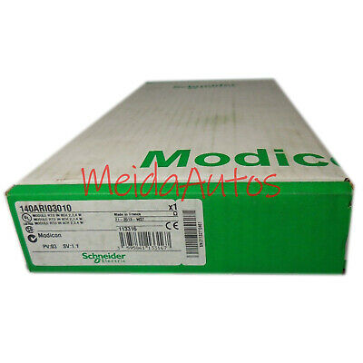 New in box Schneider 140ARI03010 PLC 140-ARI-030-10 One year warranty
