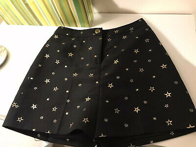 Ted Baker Star Print Tailored Shorts Size 1 Uk 8