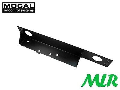 Mocal Black Aluminium Oil Cooler Mounting Bracket Suitable For Nissan 350Z Bvf