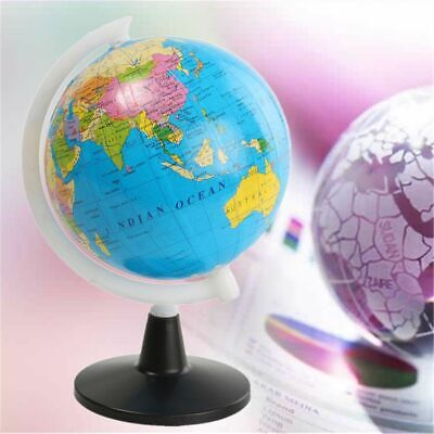 Educational  Tellurion Toy Atlas Map World Globe with Swivel Stand Geography