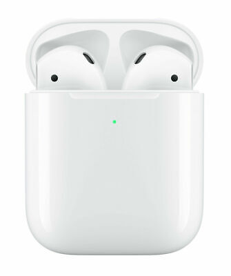 Apple AirPods 2 (2nd Generation) with Wireless Charging Case (Refurbished Set)