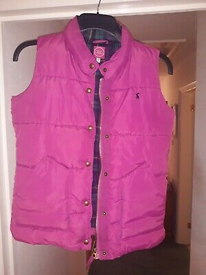 joules girls Age 11 - 12 quilted padded gilet bodywarmer