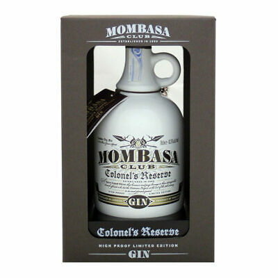 Mombasa  Club Colonel's Reserve Gin Limited Edition Cl 70 + Astuccio