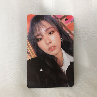 Wheein Official Photocard MaMaMoo 2nd Album Reality in Black HIP Kpop ver1
