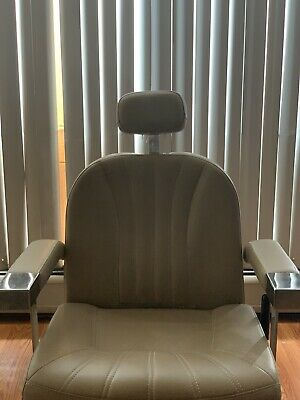 Used Barber Salon Chair. Reclines. No Rips Or Wear. Wide Seat With Memory Foam!