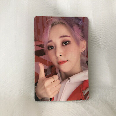 Moonbyul Official Photocard MaMaMoo 2nd Album Reality in Black HIP Kpop
