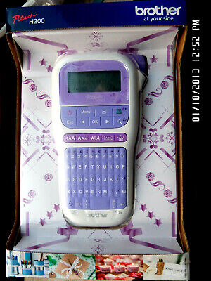 Brother PT-H200 Label Maker, P-Touch Craft Labeller, QWERTY Keyboard, Handheld