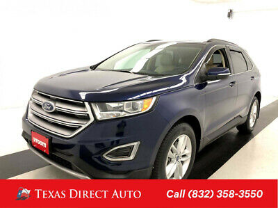 2016 Ford Edge SEL Texas Direct Auto 2016 SEL Used 3.5L V6 24V Automatic FWD SUV Premium