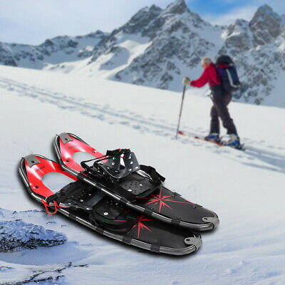 All Terrain Sports Snowshoes w/ Walking Poles and Free Carrying Bag
