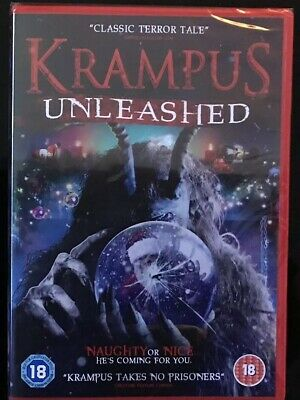 Krampus - Unleashed (DVD) (NEW AND SEALED) (REGION 2) Christmas Horror Movie.