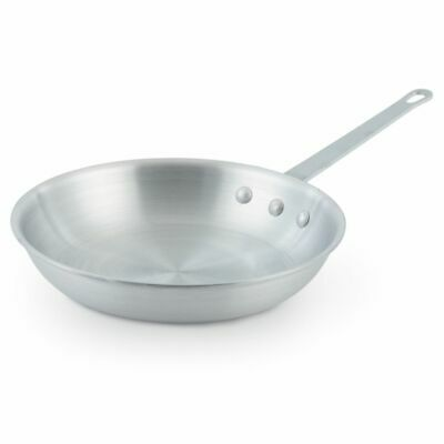 "Vollrath 7014 Arkadia Natural Finish 14"" Aluminum Fry Pan"
