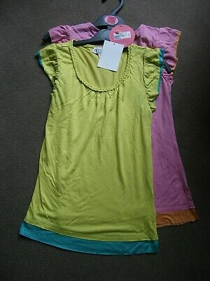 Pack of 2 Girls Tops by M&S Indigo Age 9 Years BNWT