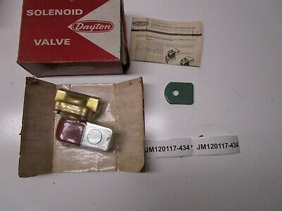 Dayton 6x082 General Purpose Solenoid New in Box Old Stock