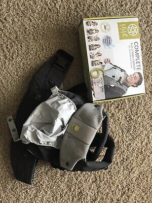 Lillebaby Complete 6-n-1 Baby Carrier All Seasons With Pocket Charcoal