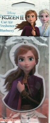 FROZEN ll - ANNA  - CAR AIR FRESHENER - BLUEBERRY              *NEW AND SEALED*.