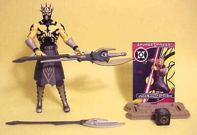 Star Wars Clone Wars SAVAGE OPRESS CW3 2012 Action Figure Loose Mint Complete
