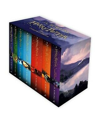 Harry Potter Box Set: Complete Collection by J. K. Rowling (Multiple Copy Pack,…