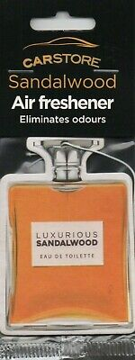 Carstore - Car Air Freshener - Sandlewood - Aftershave         *New And Sealed*.