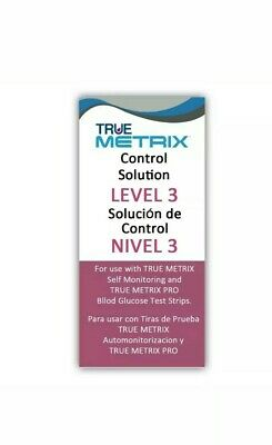 Control Solution Level 3 for TRUE Metrix Meter