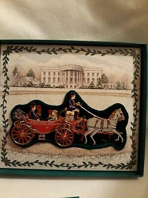 The White House Historical Association 2001 Christmas Ornament