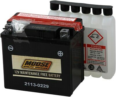 YTZ AGM Maintenance Free Battery 130CCA 12V 6Ah