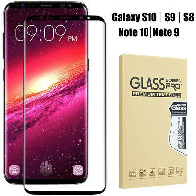 Case Friendly Tempered Glass Screen Protector For Samsung Galaxy Note9 S10 S9 S8