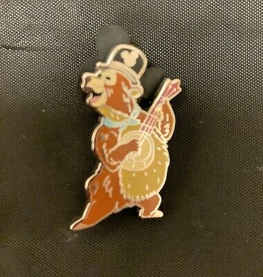 """Disney PIN WDW Hidden Mickey WAVE C - 2019 Wave Country Bears """"Wendell"""""""