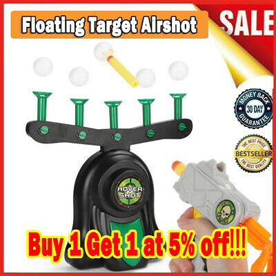 Hover Floating Target Shooting Toy Game for Kids Airshot Ball Shooting Game NEW