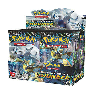 36 Packs Per Box Pokemon TCG English Edition Card Pikamon Pokemon Sun & Moon