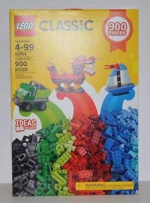 LEGO Classic 10704 Large Creative Box 900 Pieces with 39 Colors NEW IN BOX