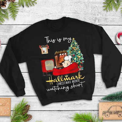 This Is My Hallmark Christmas Movie Watching Shirt Snoopy Charlie Sweatshirt