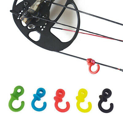 2pcs Archery Bow String Stabilizer Silencer Cat Whiskers Bowstring Hunting Shoot