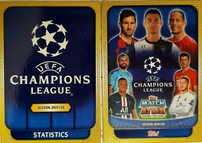 2019/20 Topps UEFA Champions League Match Attax UCL TROPHY & TITLE Card Exclusiv