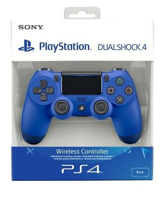 Official Playstation 4 Ps4 Dualshock 4 Wireless Controller V2 -White&Retail Box