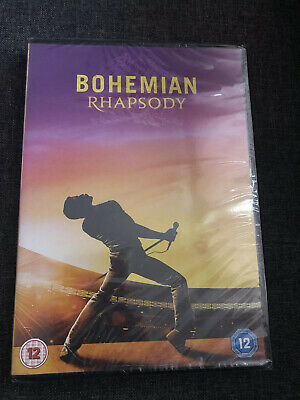 Bohemian Rhapsody [2018] Queen (DVD) Rami Malek, New Sealed