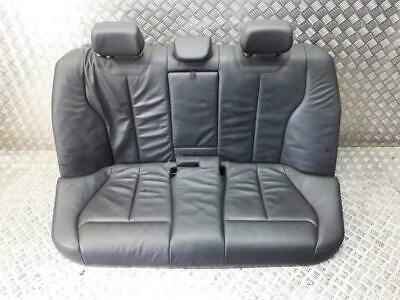 BMW 3 Series F30 Seat Assembly Rear Black Leather 2012 To 2015 +Warranty