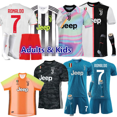 Soccer Kids Football Kits Custom Jersey Strips Junior Club Outfit Christmas Gift