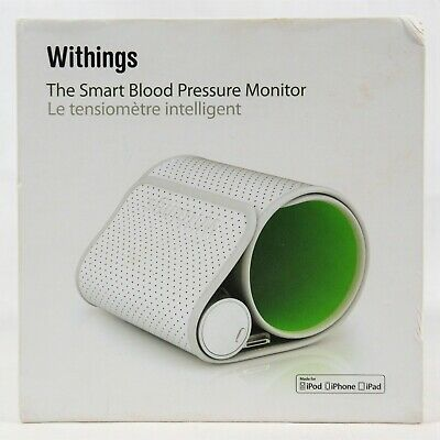 The Smart Blood Pressure Monitor by Withings for iPod iPhone iPad BP-800