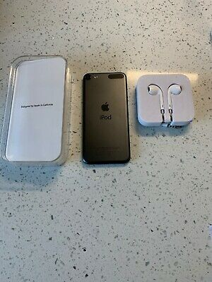 GENUINE APPLE IPOD TOUCH 6th GENERATION 32gb SPACE GREY A1574 + Box & Earpods