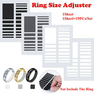 Sticker Transparent Resizing Tools Ring Size Adjuster Set Adjuster Pad Reducer